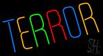 Multicolor Terror LED Neon Sign