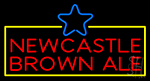 Newcastle Brown Ale LED Neon Sign