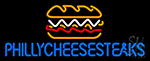 Philly Cheese Steaks LED Neon Sign