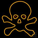 Skull Bulb LED Neon Sign