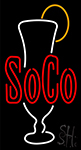 Soco Neon Sign