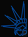 Statue Of Liberty Neon Sign
