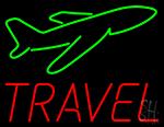 Travel Neon Sign