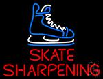 Skate Sharpening LED Neon Sign