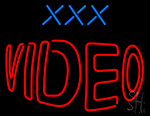 Xxx Video LED Neon Sign