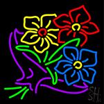 Flower Bouquet LED Neon Sign
