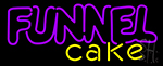 Funnel Cake LED Neon Sign