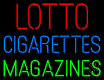 Lotto Cigarettes Magazines LED Neon Sign