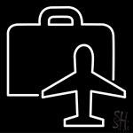 Business Flight Neon Sign