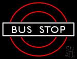 Bus Stop Border Neon Sign