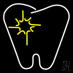 Tooth LED Neon Sign