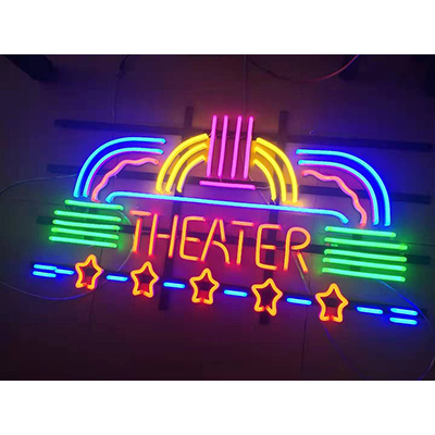 Metal Frame Backing Neon Flex Sign