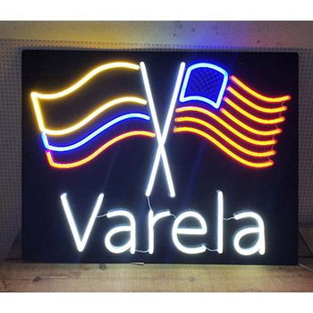 UV Print Backing Neon Flex Sign