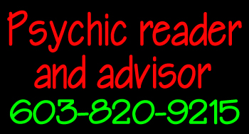 Custom Psychic Reader And Advisor Logo LED Neon Sign 3