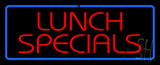Lunch Specials LED Neon Sign