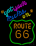 Get Your Kicks on Route 66 LED Neon Sign