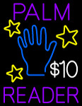Custom Janey Palm Reader LED Neon Sign 1