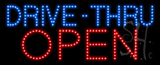 Drive-Thru Open Animated LED Sign