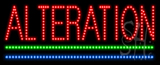 Alteration Animated LED Sign