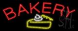 Bakery Logo Animated LED Sign