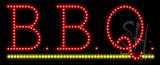 B.B.Q Animated LED Sign