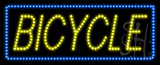 Bicycle Animated LED Sign