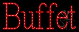 Buffet Animated LED Sign
