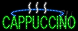 Cappuccino Logo Animated LED Sign