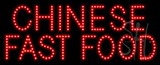 Chinese Fast Food Animated LED Sign