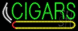 Cigars Logo Animated LED Sign