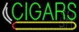 Cigars Logo Animated LED Sign