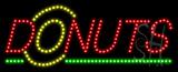 Donuts Logo Animated LED Sign
