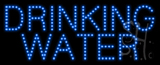 Drinking Water Animated LED Sign