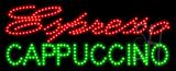 Espresso Cappuccino Animated LED Sign