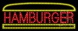 Hamburger Logo Animated LED Sign