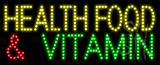 Health Food and Vitamin Animated LED Sign