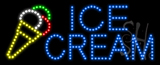 Ice Cream Logo Animated LED Sign