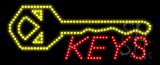 Keys Logo Animated LED Sign