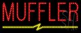 Muffler Animated LED Sign