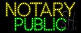 Notary Public Animated LED Sign