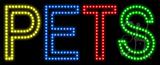 Pets Animated LED Sign