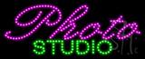 Photo Studio Animated LED Sign