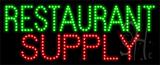 Restaurant Supply Animated LED Sign