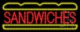 Sandwiches Logo Animated LED Sign