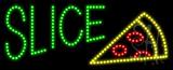 Slice Logo Animated LED Sign