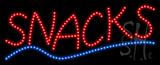 Snacks Animated LED Sign