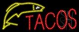 Tacos Logo Animated LED Sign