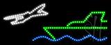 Travel Logo Animated LED Sign
