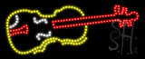 Violin Logo Animated LED Sign