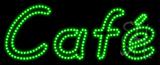 Cafe Animated LED Sign